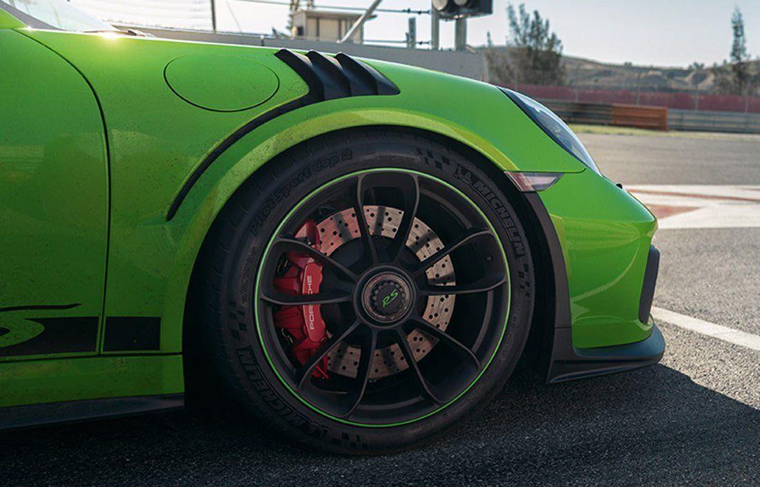 hamulce PCCB w Porsche 911 GT3 RS