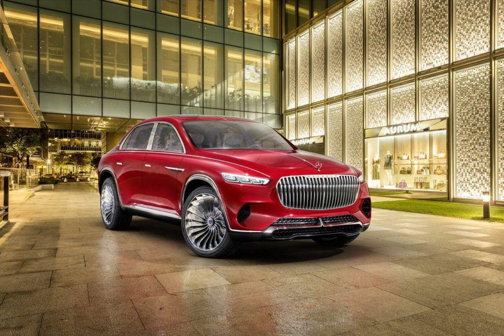 Mercedes-Maybach Ultimate Luxury - wizja SUV-a Maybacha z 2018 r.