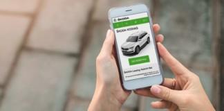 Skoda platforma leasingowania samochodów online