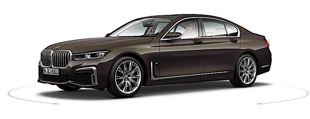 BMW 730d (2019) - bok