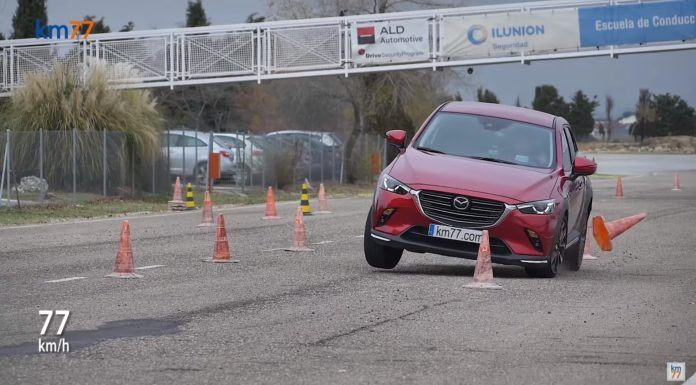 mazda cx-3 test losia