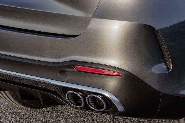 Mercedes-AMG GLE 53 4MATIC+ - wydech