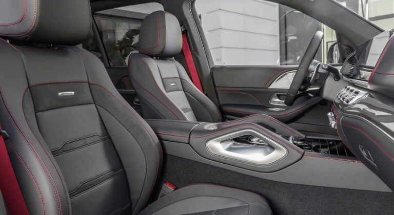Mercedes-AMG GLE 53 4MATIC+ - fotele