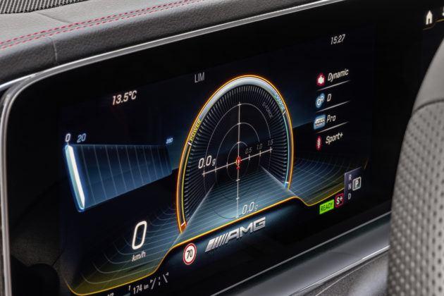 Mercedes-AMG GLE 53 4MATIC+ - ekran