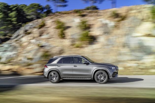 Mercedes-AMG GLE 53 4MATIC+ - bok
