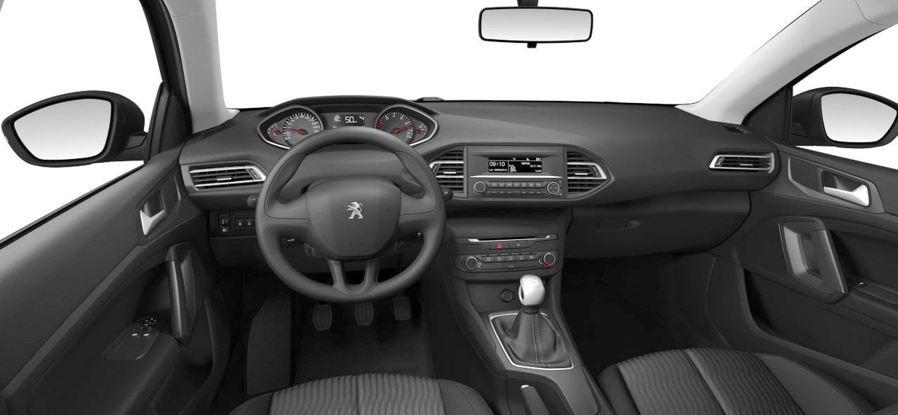 Peugeot 308 - kokpit