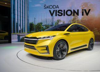 Skoda Vision iV - elektryczny SUV coupe ma trafić do produkcji