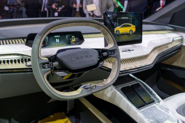 Skoda Vision iV - prototyp, Genewa 2019