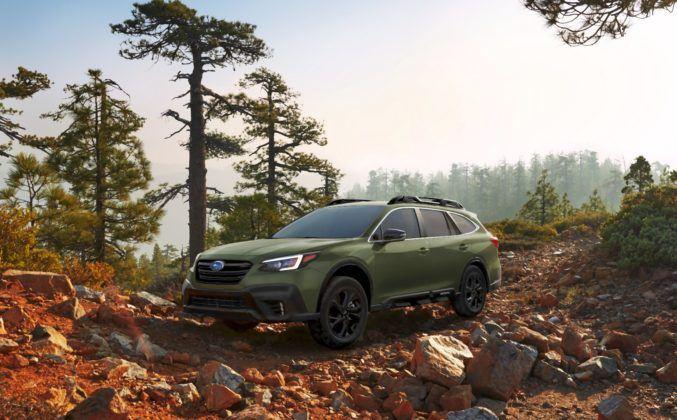2020 Subaru Outback - przód