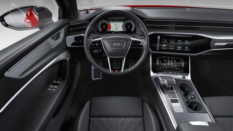 Audi S6 Avant - kokpit