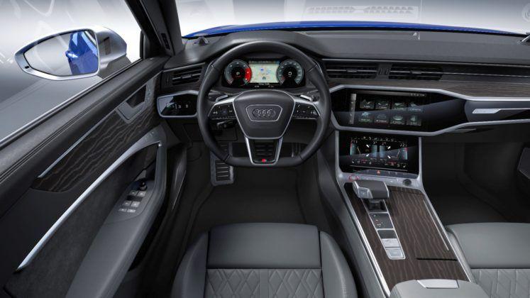 Audi S6 Limousine - kokpit