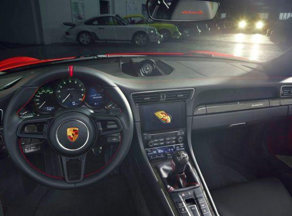 2019 Porsche Speedster - kokpit