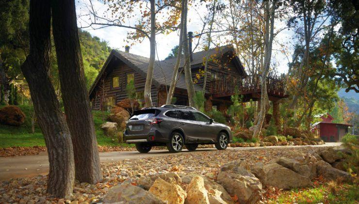 2020 Subaru Outback - tył