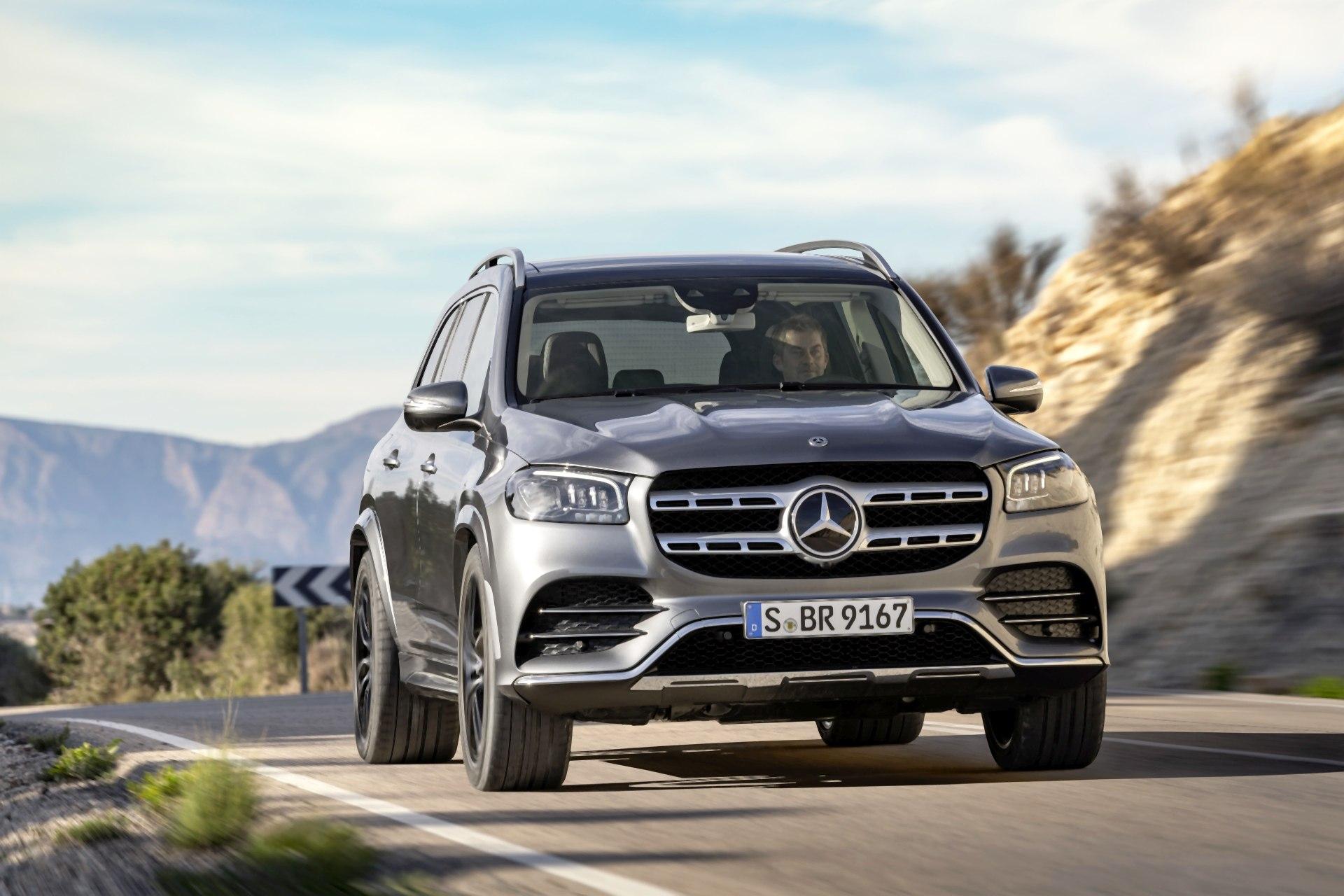 2020 Mercedes GLS - przód