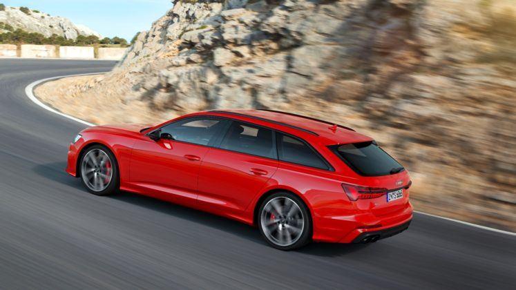 Audi S6 Avant - bok