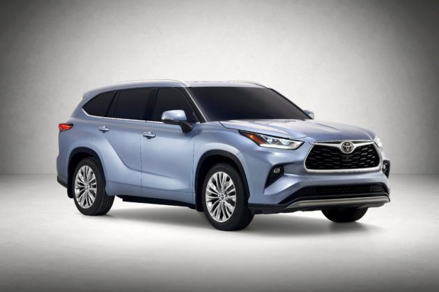 2020 Toyota Highlander - przód