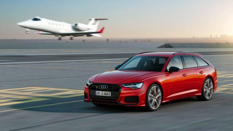 Audi S6 Avant - przód