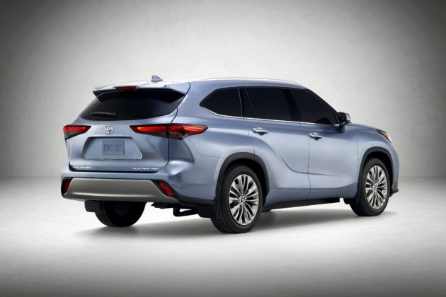 2020 Toyota Highlander - tył