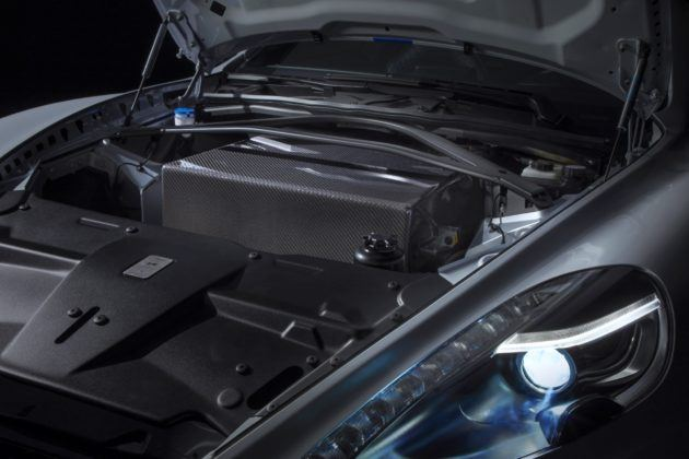 Aston Martin Rapide E - baterie