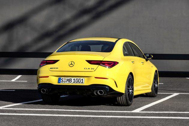 Mercedes-AMG CLA 35 4MATIC - tył