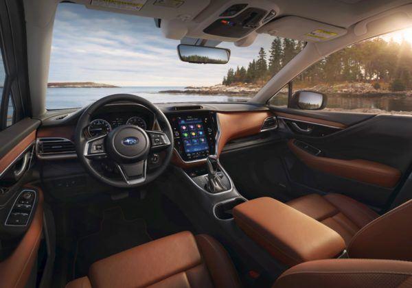 2020 Subaru Outback - kokpit