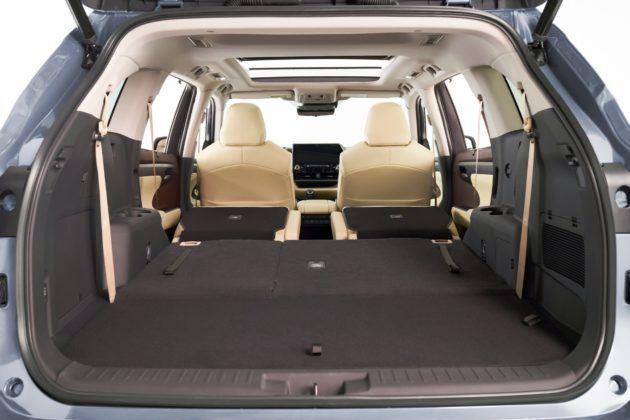 2020 Toyota Highlander - bagażnik