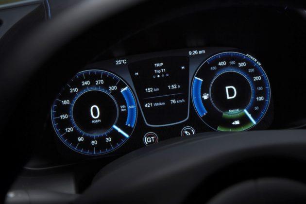 Aston Martin Rapide E - zegary