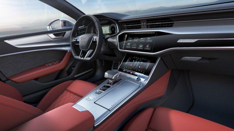 Audi S7 Sportback - kokpit