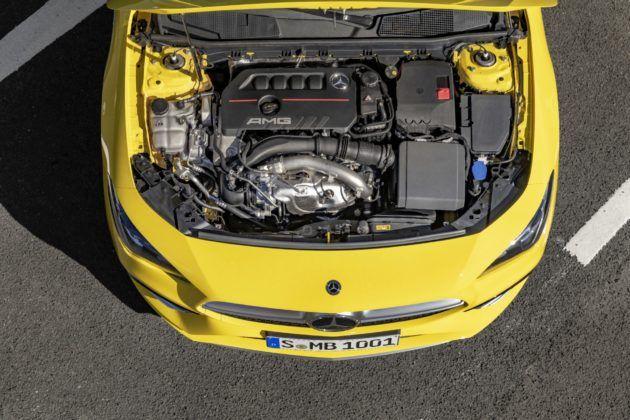 Mercedes-AMG CLA 35 4MATIC - silnik