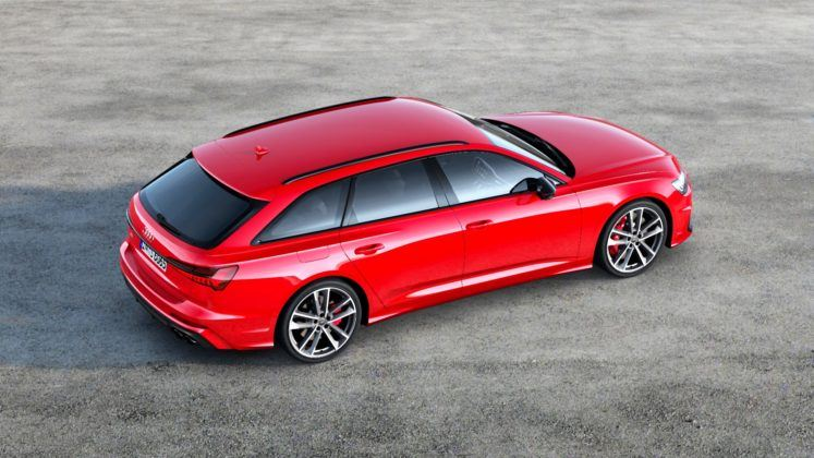 Audi S6 Avant - tył