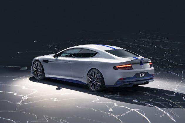 Aston Martin Rapide E - tył