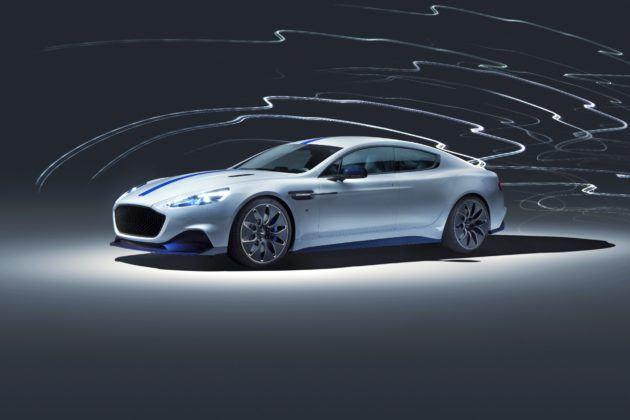 Aston Martin Rapide E - przód