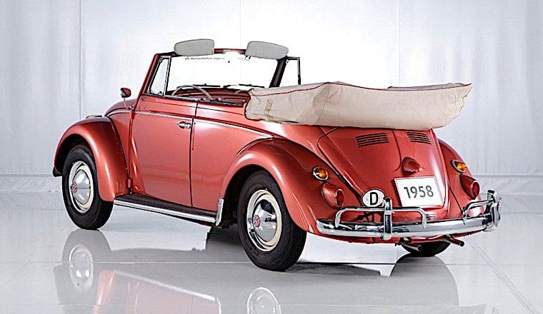 1958 Volkswagen Kafer Cabriolet