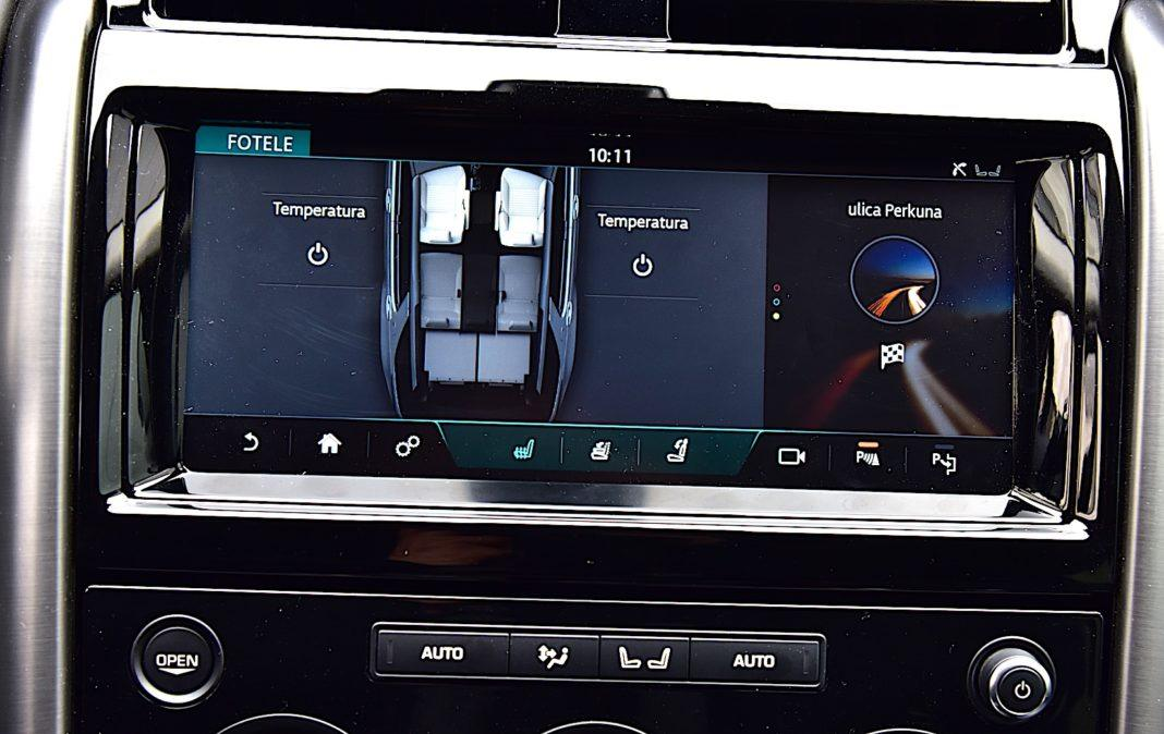 Land Rover Discovery - ekran