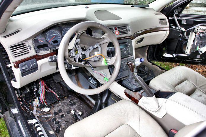 Auto po przekładce