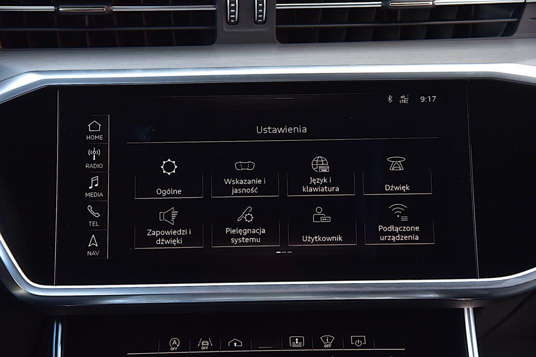 Audi A6 C8 - ekran