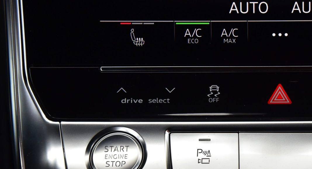 Audi A7 Sportback 50 TDI - przyciski