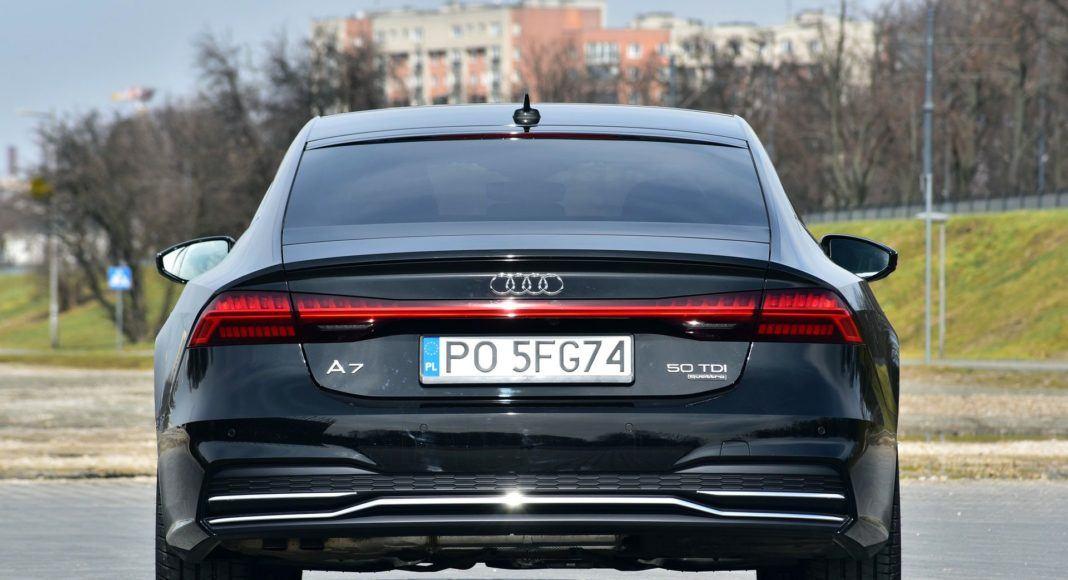 Audi A7 - tył