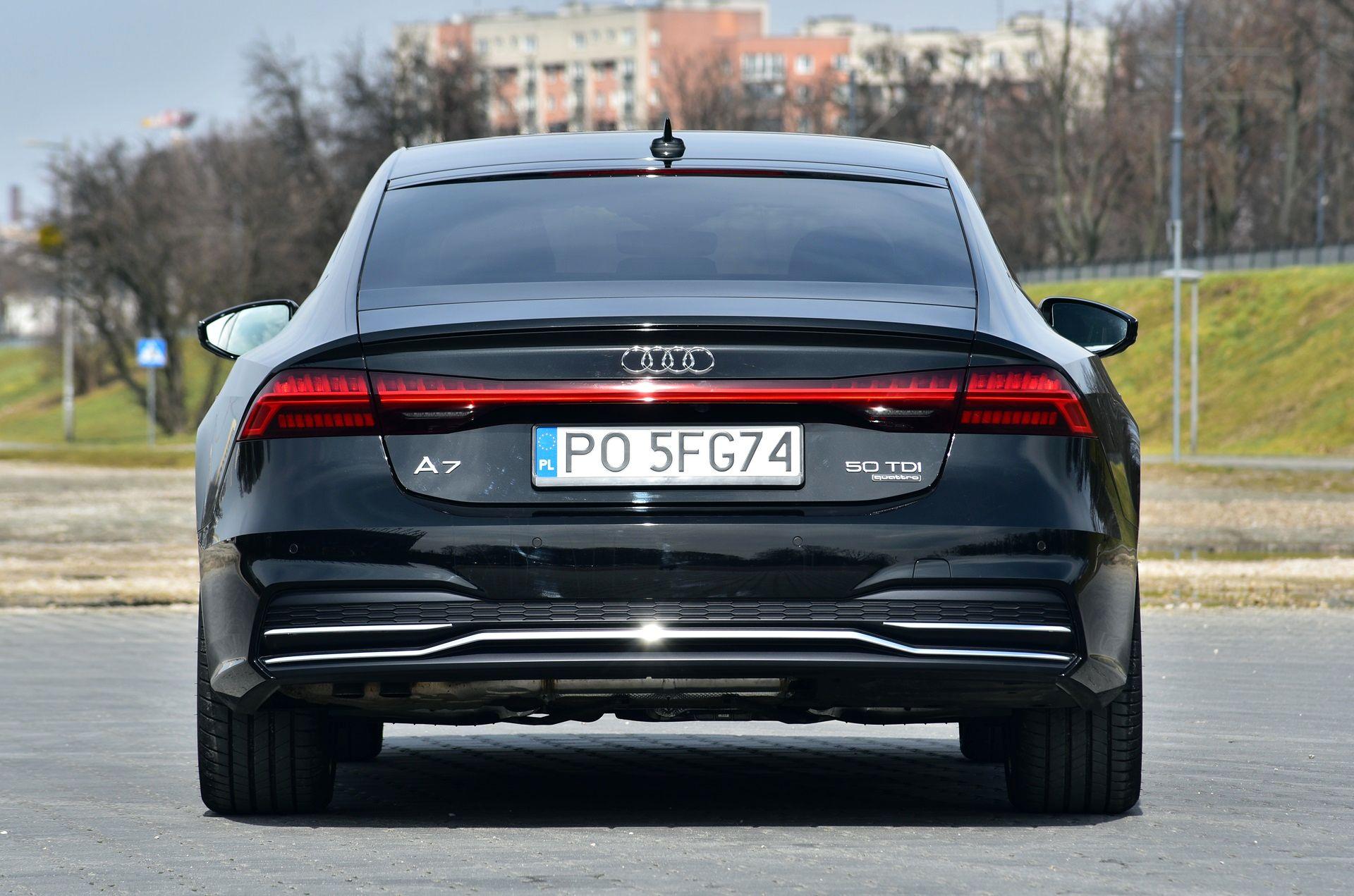 Audi A7 Sportback 50 Tdi Quattro Test