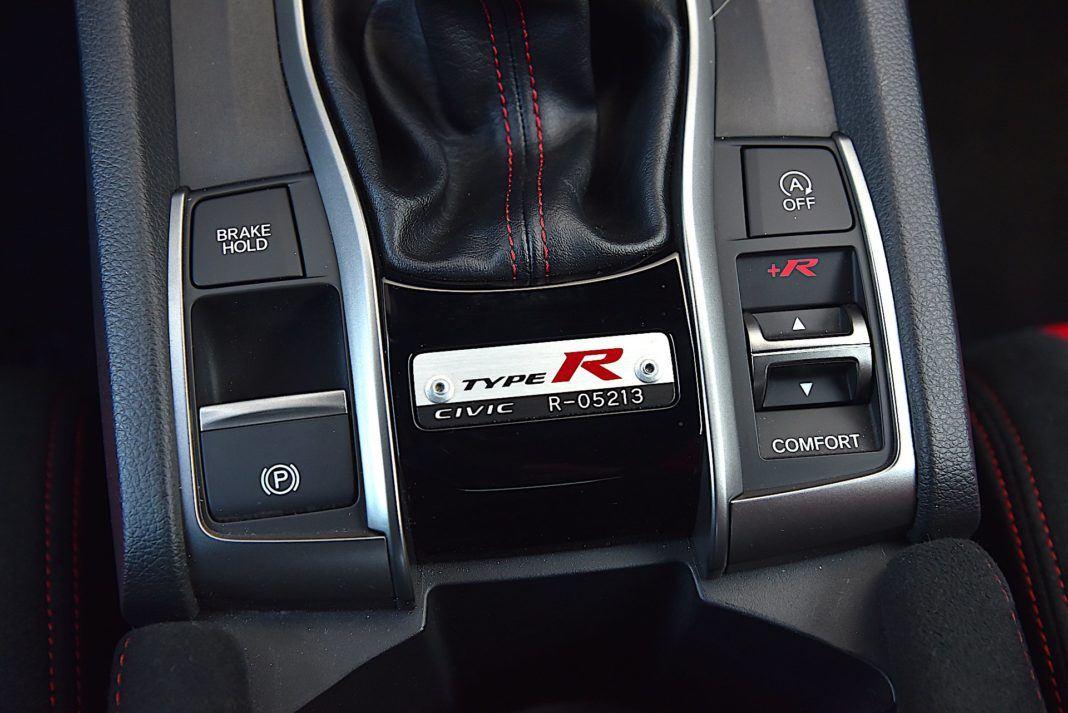 Honda Civic Type R - hamulec postojowy