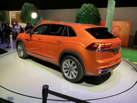 Volkswagen Teramont X, czyli SUV Teramont w stylu coupe