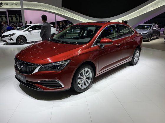 W Chinach modele Opla występują pod marką Buick