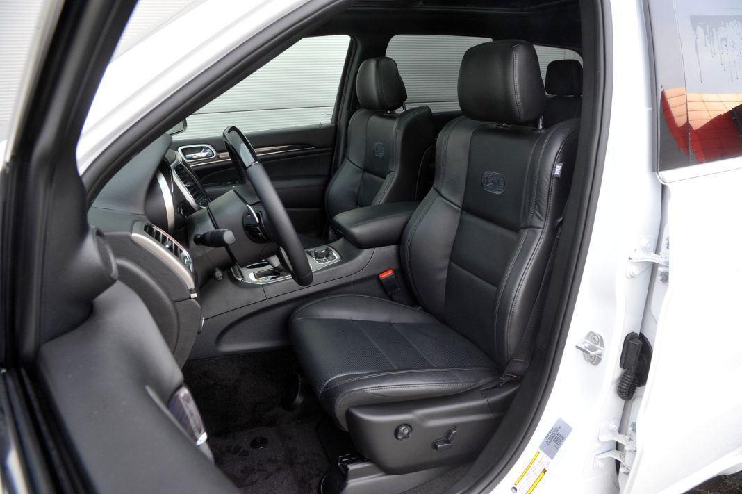 Jeep Grand Cherokee - fotel kierowcy
