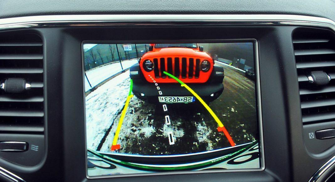 Jeep Grand Cherokee - kamera cofania