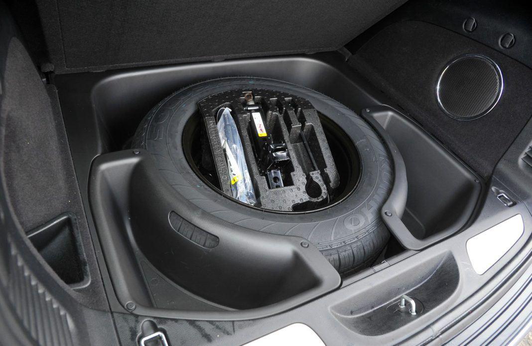 Jeep Grand Cherokee - koło zapasowe