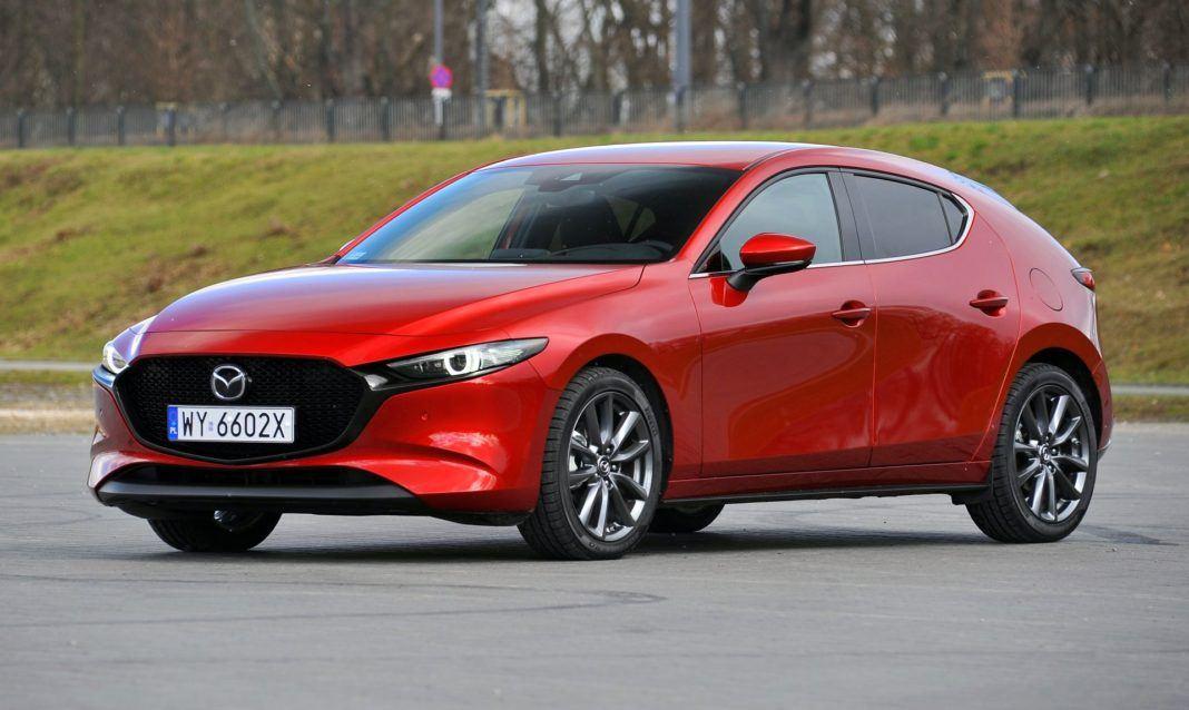 Mazda 3 2.0 SkyActiv-G - przód