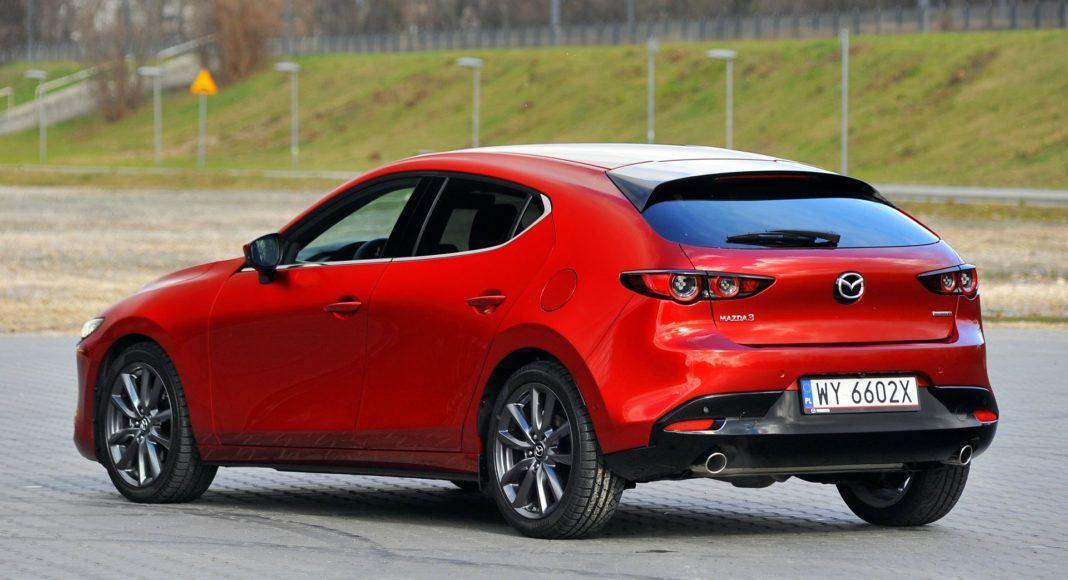 Mazda 3 2.0 SkyActiv-G - tył