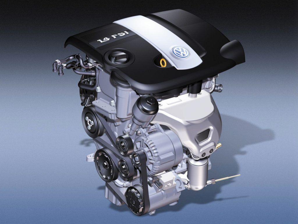 silnik 1.4/1.6 FSI
