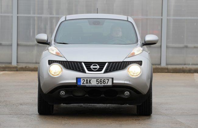 Nissan Juke - przód