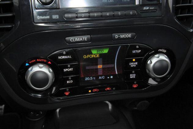 Nissan Juke - deska rozdzielcza